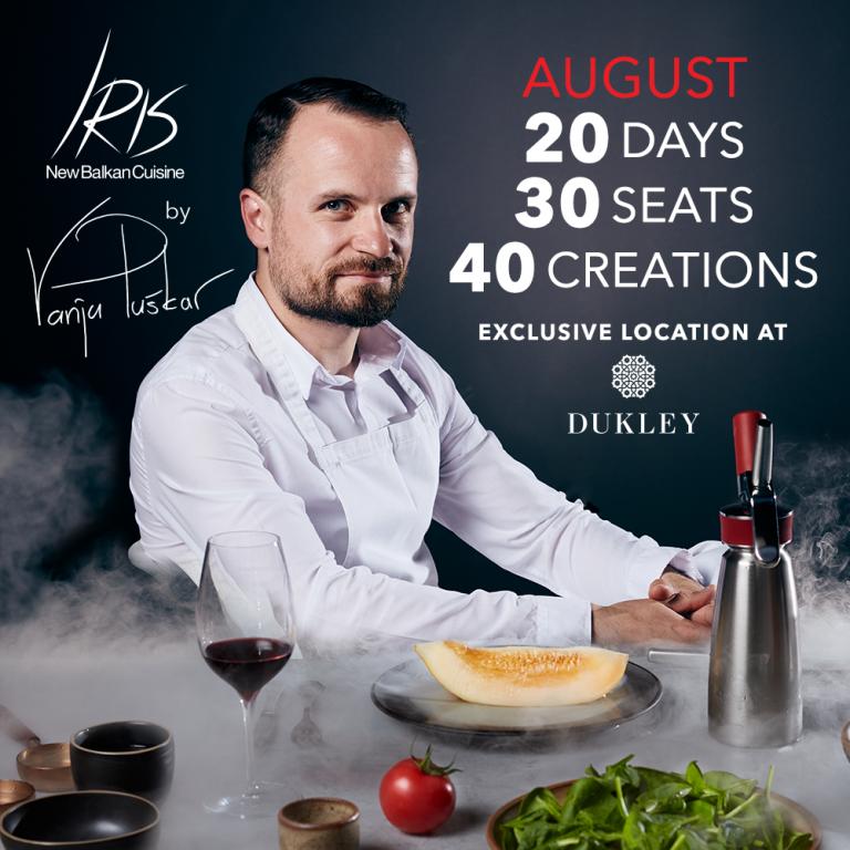 "The innovation of Balkan Cuisine: ""Iris"" at Dukley by Vanja Puškar"